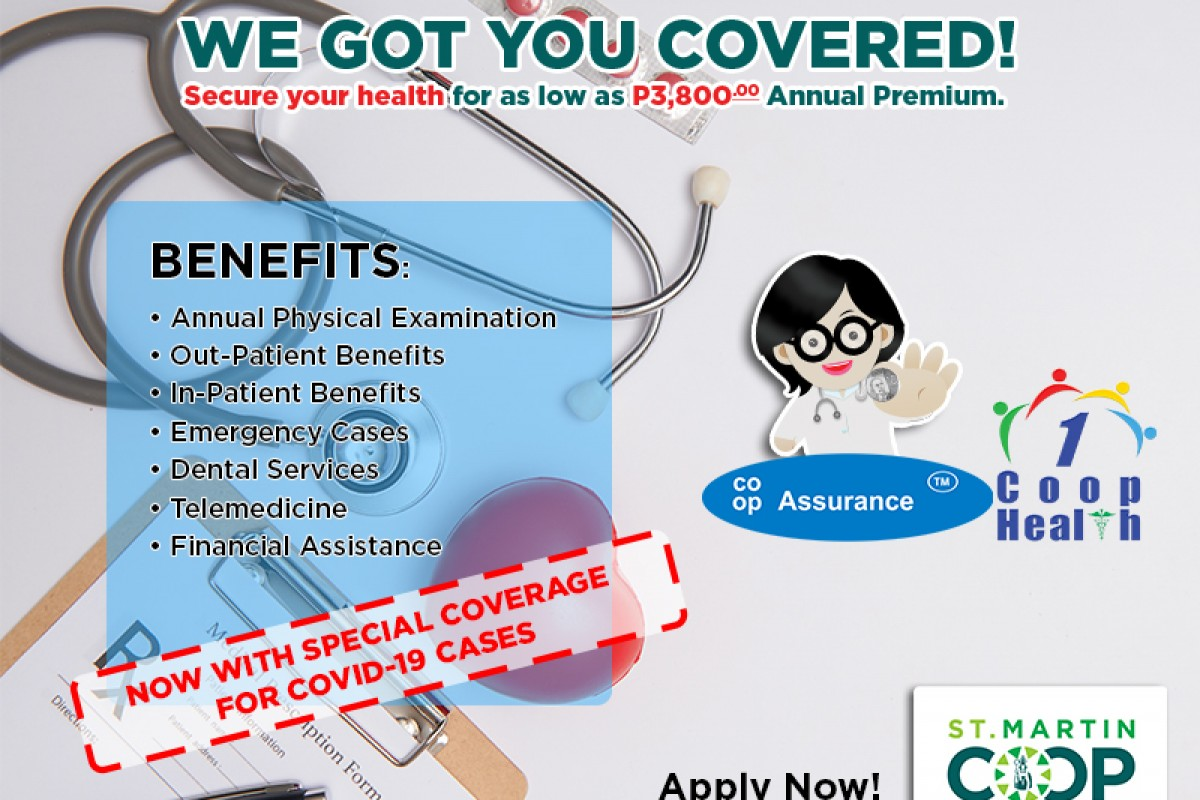 Secure your health for only P3,800.00 Insurance Premium